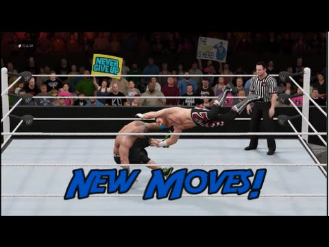 WWE 2K16 | New Moves DLC - All Moves