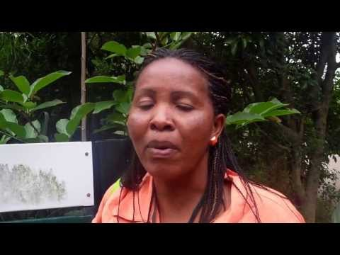 2011 Durban SA United Nations Climate Change Conferenc--Esther, Small Kenyan farmer speaks