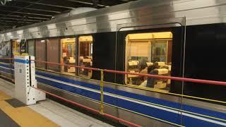JR京都線 223系Aシート 新快速野洲行き 高槻駅発車