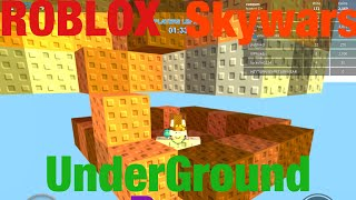 {ROBLOX} Skywars - How to build an underground base