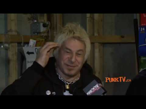 UK Subs Interview with Charlie Harper by Dixon Christie for PunkTV.ca Part 3 of 3