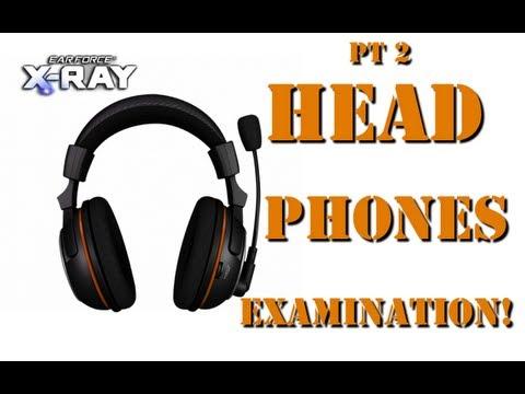 Black Ops 2 Turtle Beach X-ray Pt2: Headphone Examination