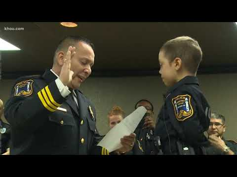 #WhyWeAdvocate: 6 Year Old Cancer Patient Becomes A Police Officer