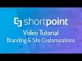 Video Tutorial: SharePoint Branding and Site Customizations
