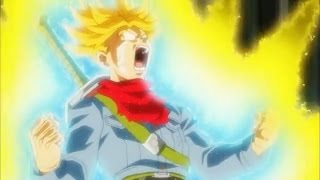 Future trunks ges super saiyan rage for the first time! dragon ball super!