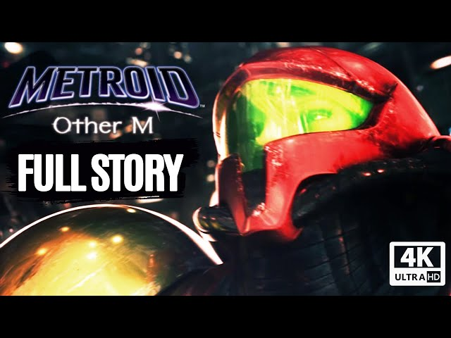 METROID: OTHER M All Cutscenes (Game Movie) Full Story 4K Ultra HD
