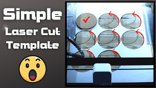 How To Make A Template For Laser Engraving : Ortur Laser Master 2