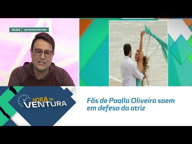 Fãs de Paolla Oliveira saem em defesa da atriz por conta de comentários nas redes sociais - Bloco 01