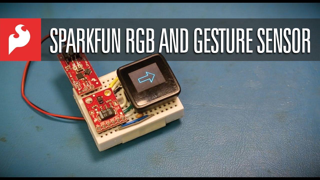 SparkFun RGB and Gesture Sensor - APDS-9960 - SEN-12787