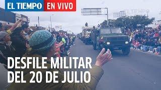 Desfile militar del 20 de julio en Bogotá l EL TIEMPO