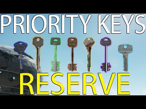 Reserve Priority Key Guide - Escape From Tarkov