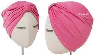 Make an easy turban hat with this tutorial and you will know how to a simple hat. it's best turban...