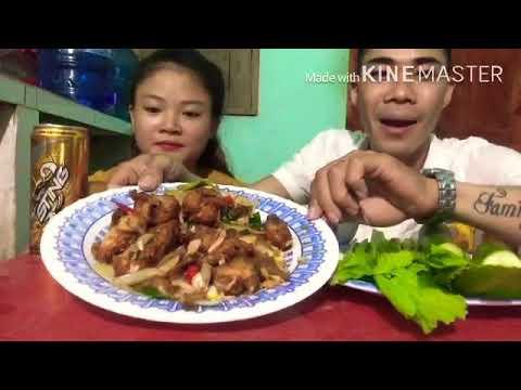 T&T Vlogs Ăn khuya với món cánh gà chiên mắm siêu cay