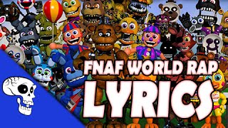 "FNAF World Rap LYRIC VIDEO by JT Machinima - ""Join the Party"""