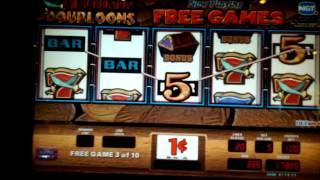 Blackbeards Doubloons Slot Bonus Game