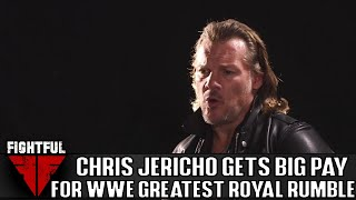 Chris Jericho Was Paid $100,000 For WWE Greatest Royal Rumble Appearance
