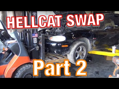 LS swaps are so last week: Shop drops Hellcat into Mazda MX-5 Miata