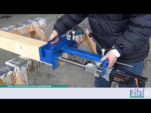 Montageanleitung Säulen-Pfetten-Verbinder SPP Pitzl Metallbau