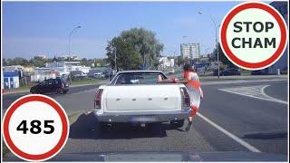 Stop Cham #485 - Niebezpieczne i chamskie sytuacje na drogach