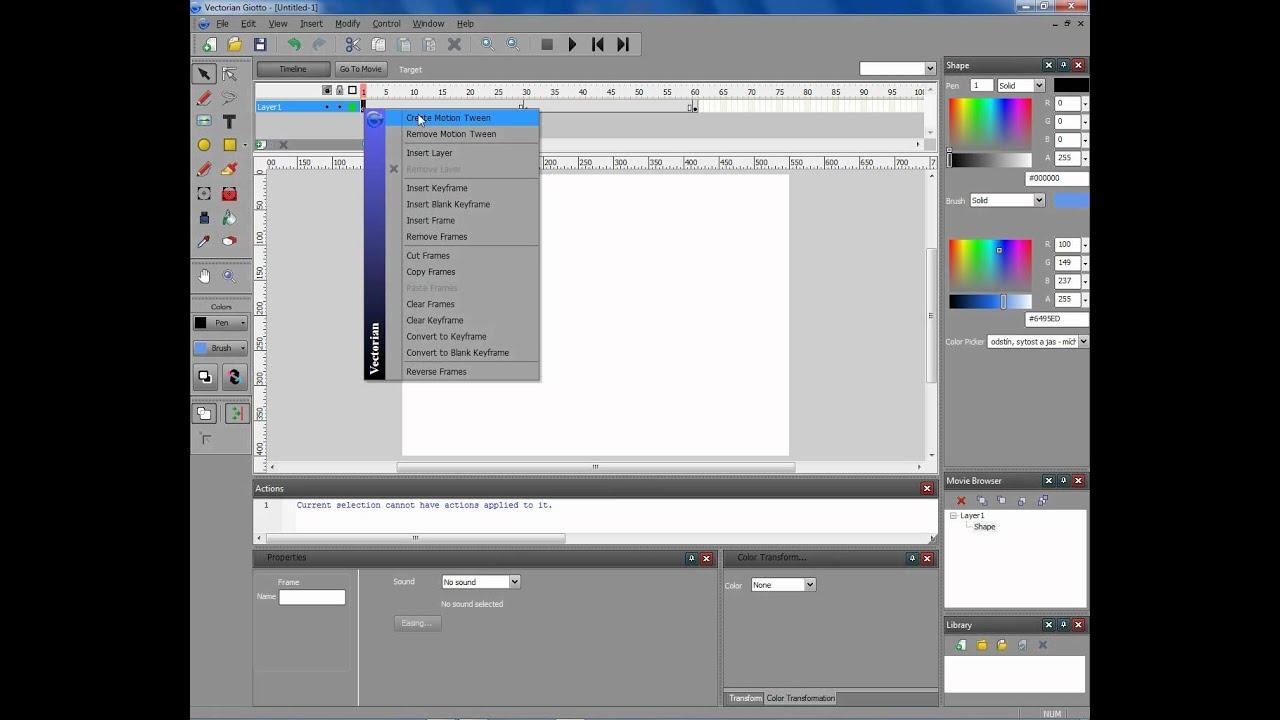 Tutorial 9 imparare vectorian giotto youtube.