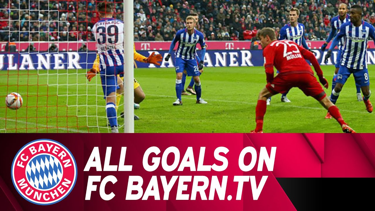 hertha bayern highlights