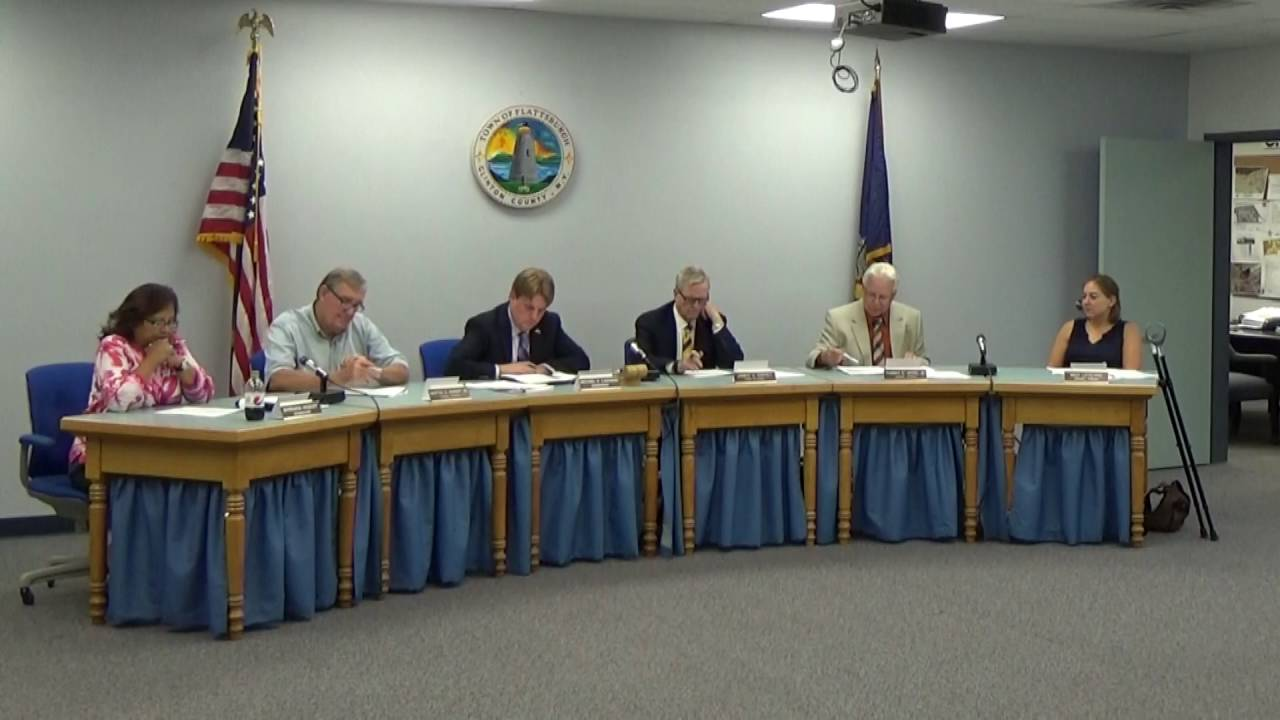 Town of Plattsburgh Meeting  8-15-16