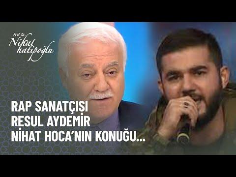 Başarılı rap sanatçısı Resul...