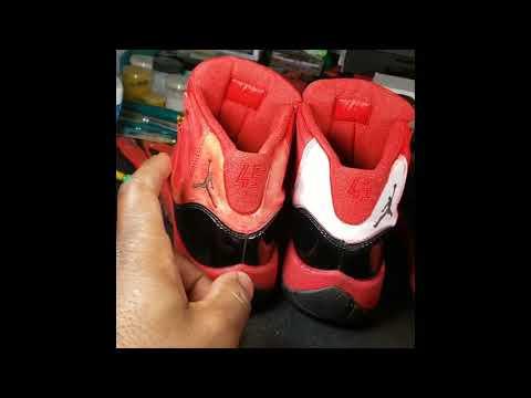 Custom Bloody Jordan Concord 11s