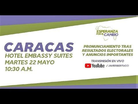 EN VIVO - Pronunciamiento de Javier Bertucci tras resultado electoral