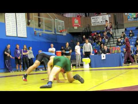 CIS Championships 2012: 76 kg Connor Malloy vs. Mitch Krauter