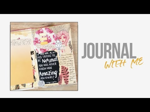 Journal With Me ~ Creative Journaling #3