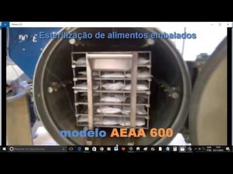 Autoclave ardode modelo AEAA 600 - Cozimento e esterilização