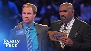 Can Jeff make an EPIC COMEBACK? | Family Feud