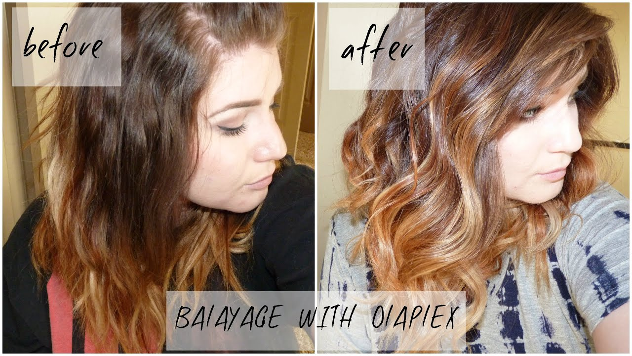 DIY HOW I ADDED FACE FRAMING BALAYAGE TO MY HAIR MYSELF USING ...
