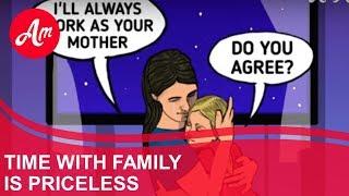 Dibujos Animados - Tiempo Con La Familia No Tiene Precio | AmoMama