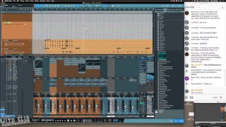 Drum Mix In Studio One 3.5 Live Stream pt2