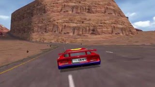 Viper Racing (PC Game 1998) - A lap in Sunset Mesa