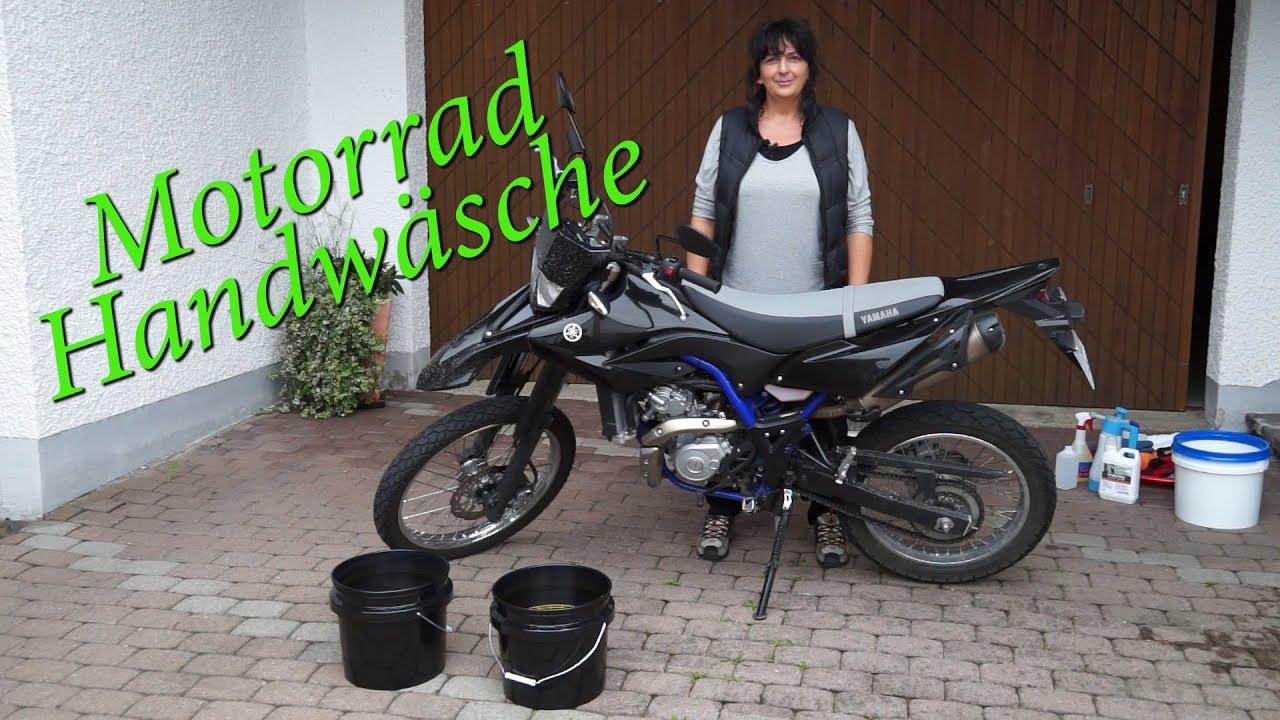 schonende motorrad handw sche 2 eimer methode deutsch youtube. Black Bedroom Furniture Sets. Home Design Ideas