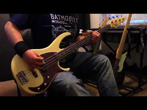 Walk The Moon - One Foot (bass cover)