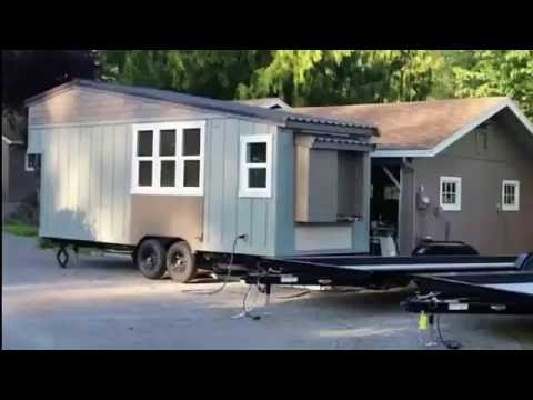 Beautiful Handcrafted Movement Tiny House