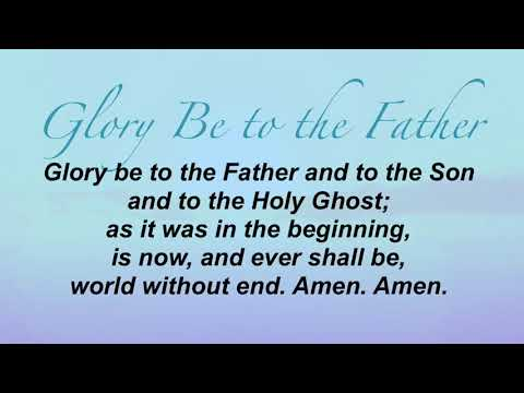 Glory Be to the Father (United Methodist Hymnal #70)