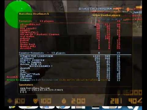 Highest score ever in Cs 1.6 - YouTube