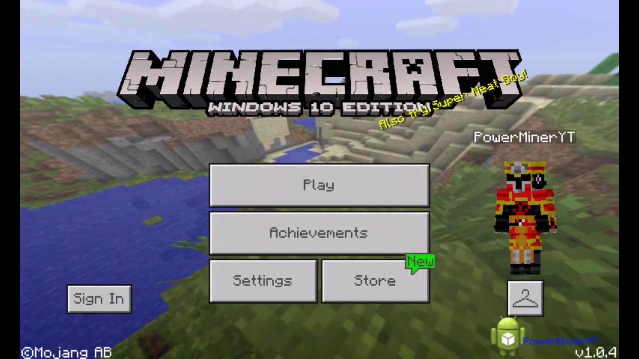 minecraft windows 10 edition apk