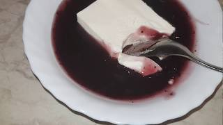 Сливочный десерт с желатином.Вкуснее панна котты