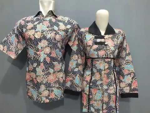 Jual aneka Model Atasan Batik Modern Pria   Wanita  923a352a8e