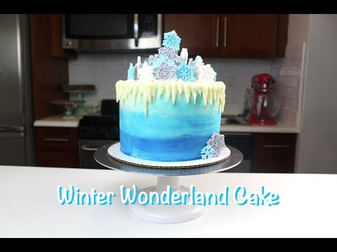 winter wonderland wedding cake pictures how to make a winter cake chelsweets 27573