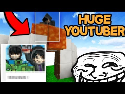 HUGE YOUTUBER CAUGHT ABUSING ON MY SERVER *Banned* (Minecraft Trolling)