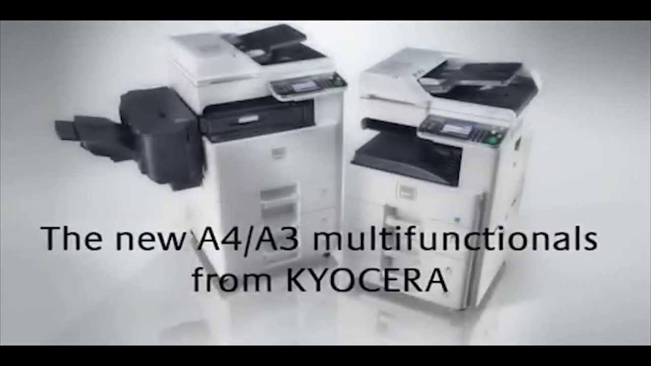 Kyocera ECOSYS FS-C8520MFP Printer Network Fax Windows Vista 64-BIT