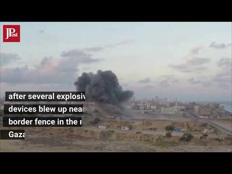 IDF Retaliates Following Explosion on Northern Gaza Border, March 15, 2018