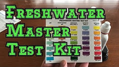 What's in an API Freshwater Master Aquarium Test Kit: Overview on how to use the tests